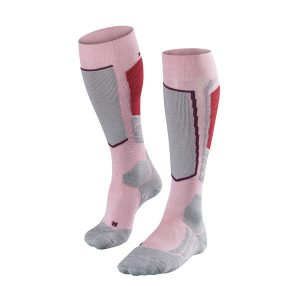 Falke-Womens-SK2-Ski-Socks-The-Boot-Bus-Pink-Grey-Red-zoom