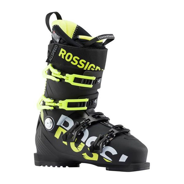ROSSIGNOL-ALLSPEED-PRO-110-BLACK-YELLOW-THE-BOOT-BUS-FRONT-SIDE