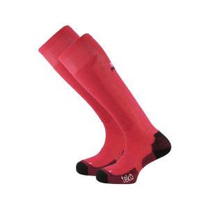 Teko-TMF-Ski-Medium-Ski-Socks-3710-Red-The-Boot-Bus